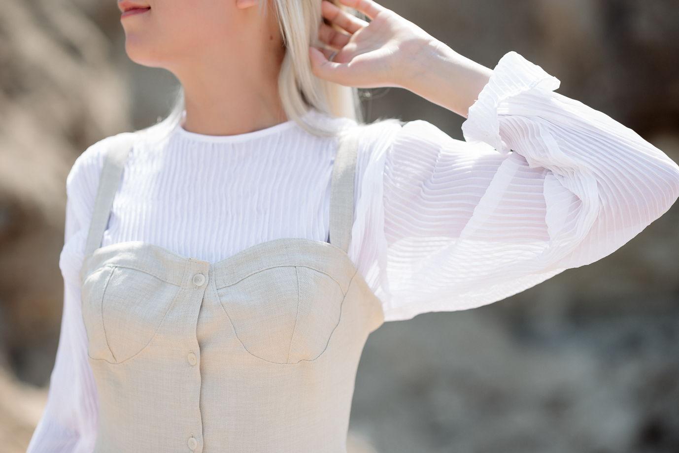 Гофрированная рубаха VETER