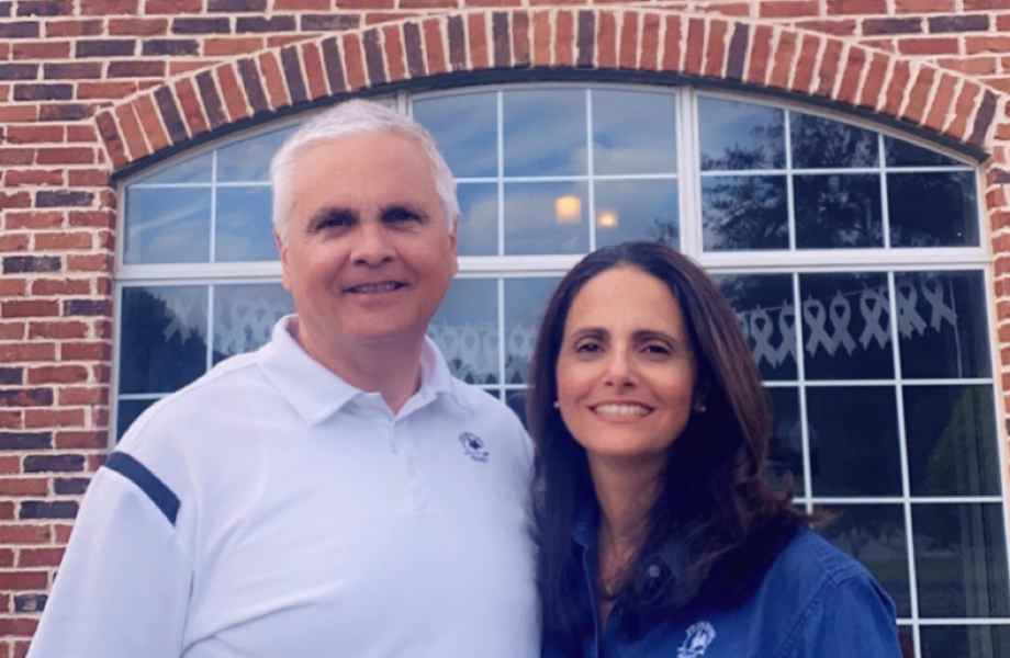 Franchise Owners of Primrose School Ed and Marta Guevara