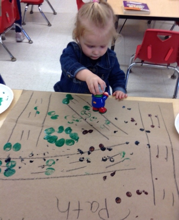 child learning in the Preschool Pathways classroom at daycare and child care Primrose School of Clear Lake located in 77062