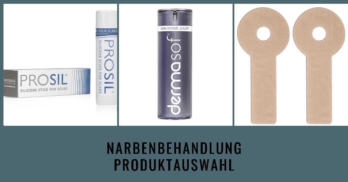 BIODERMIS Portfolio Narbenpflegeprodukte