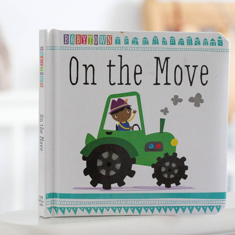 on the move baby book