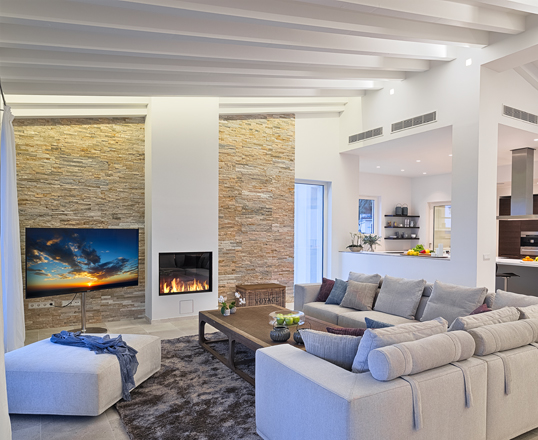Barcelona - Fresh fireplace design ideas for 2018