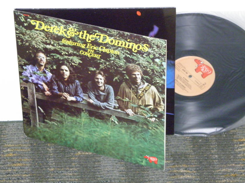 Derek & The DominoS feat Eric Clapton - In Concert RSO 2658 106 HOLLAND pressing NM+