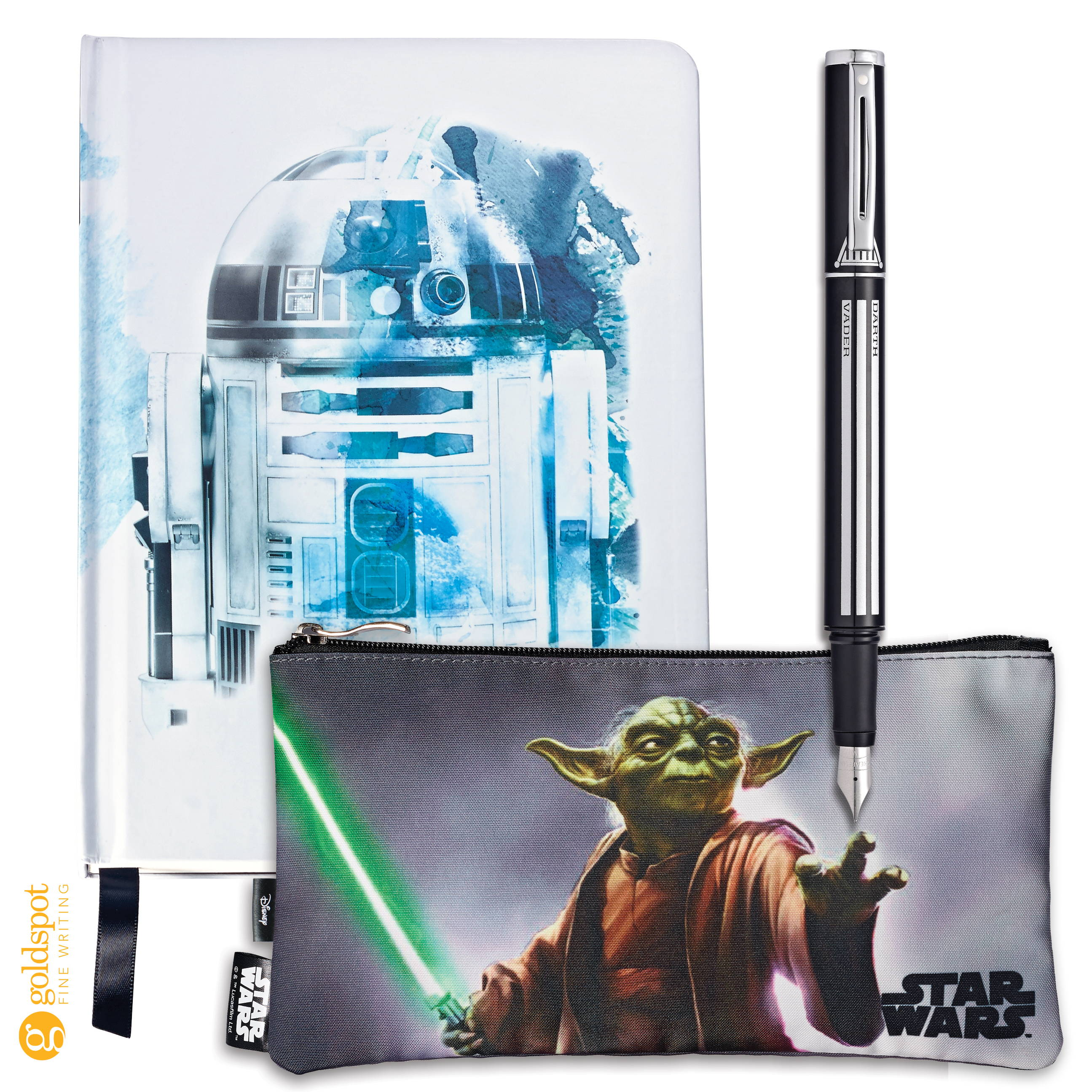 Sheaffer Star Wars Collection Pop pens notebooks and pouches