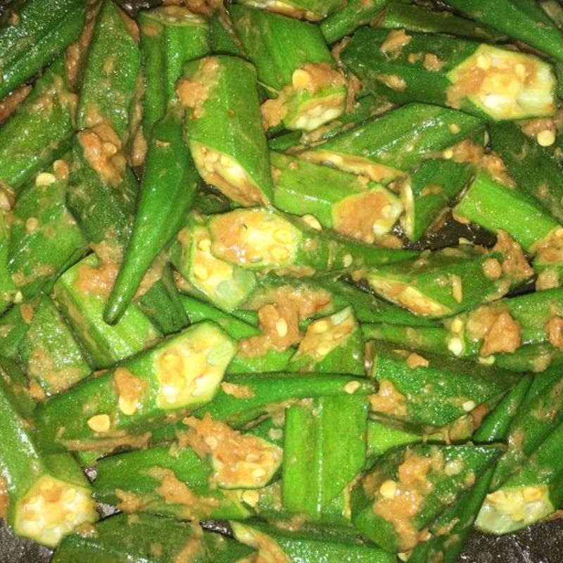 A similar recipe using Okra aka Lady Fingers.