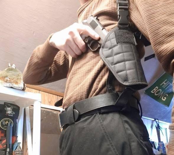 shoulder holster testimonials