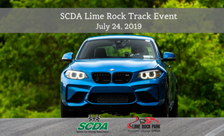 SCDA- Lime Rock Park- Track Event- July 24th