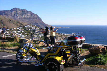 Romantic Chapman's Peak sunset trike tour.