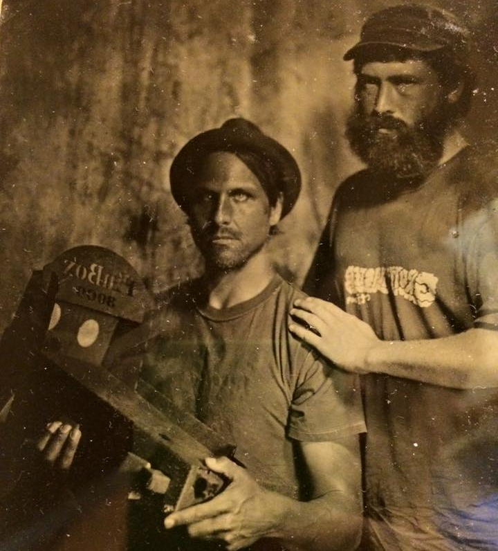 Recovered photo of Ben and Pete and their first PinBox 3000