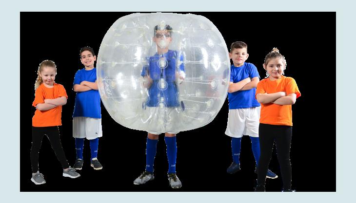 bubblefootball kindergemischt bumperz
