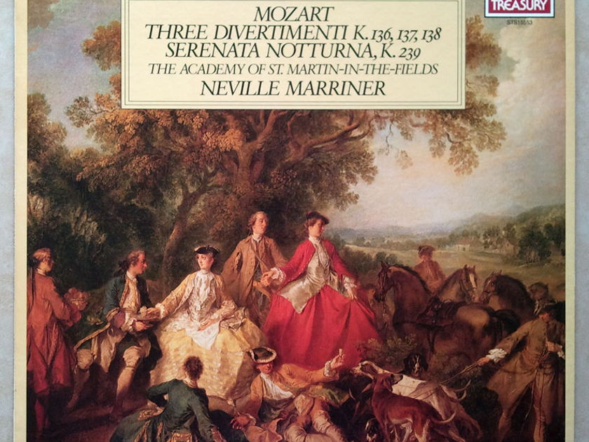 London ffrr/Marriner/Mozart - Three Divertimenti, Serenanta Notturna / NM