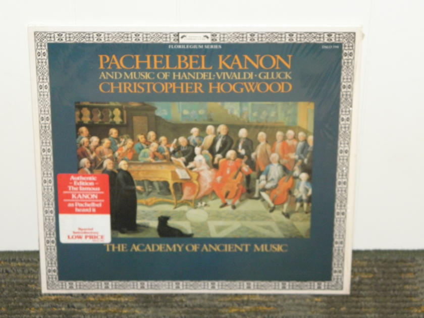 """Hogwood/The Academy Of Ancient Music - Pachelbel """"Kanon""""+more UK import Decca L'oisieau-Lyre DLSO 594"""