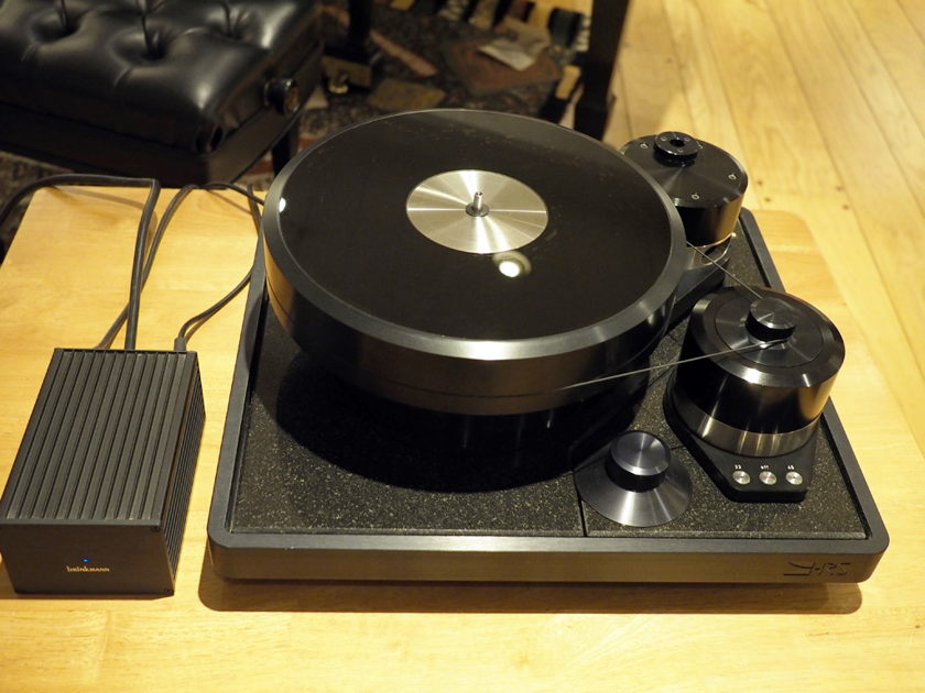 Brinkmann LaGrange turntable with Ront tube power supply