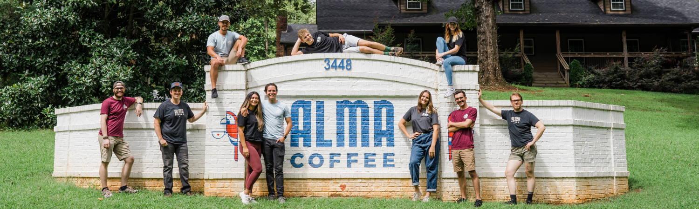 Alma Coffee team