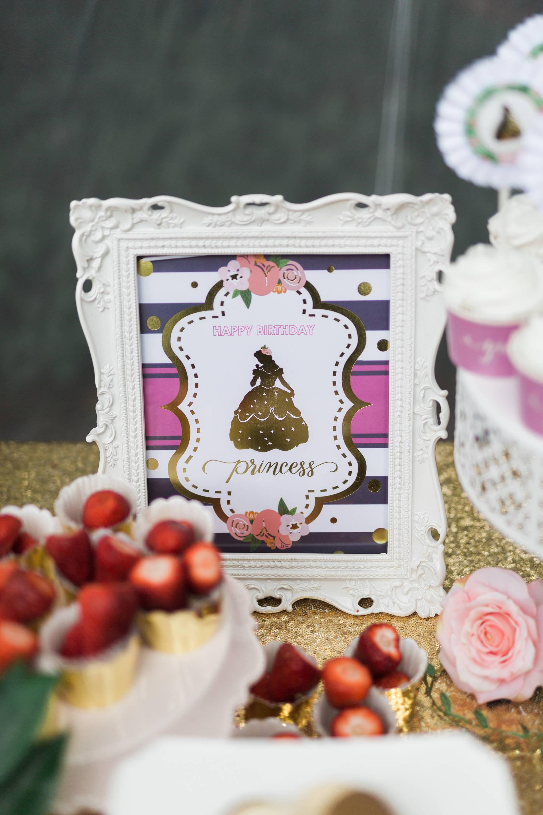 Princess Party Ideas, Princess Party Supplies