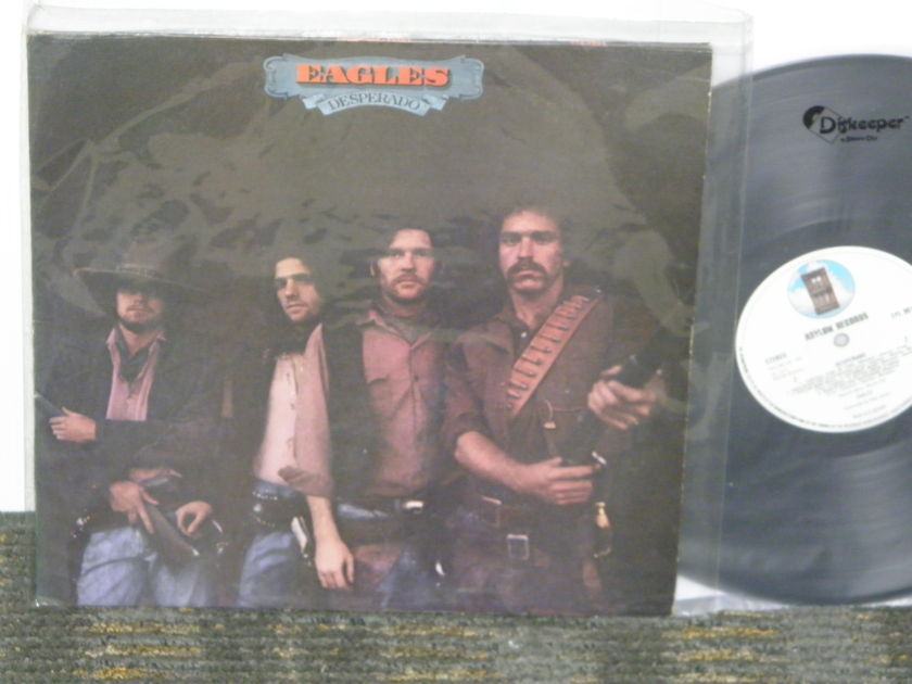 "Eagles - ""Desperado""  *TAS* list UK Asylum SYL 9011 First Press"