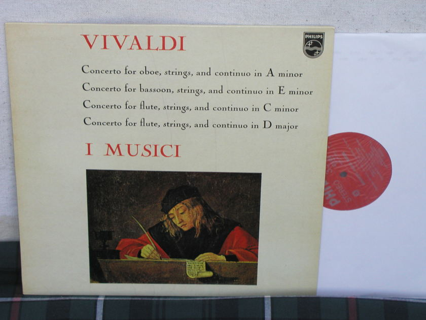 I Musici  Vivldi Concertos - Oboe/Bassoon Philips Import LP LY 835
