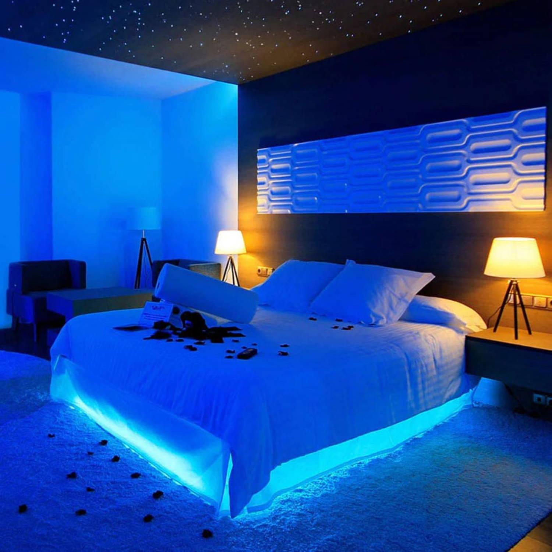 best led light strips for room, led lights in room, color changing led strip lights