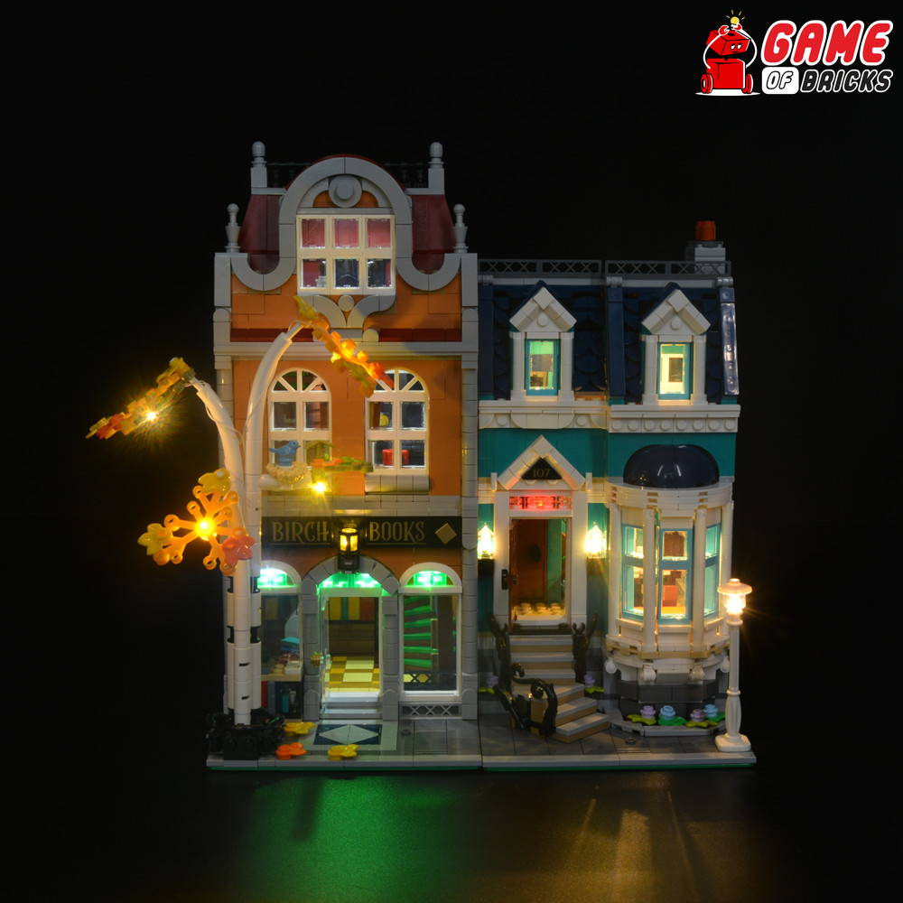 lego led lights for bookshop 10270