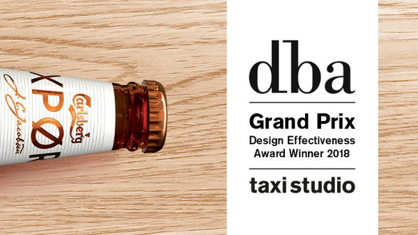 DBA Grand Prix Winning Project: Carlsberg EXPØRT (The Most Commercially Effective Design Project of 2017)
