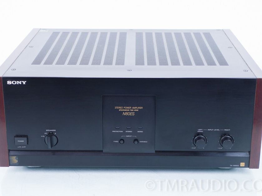 Sony TA-N80ES Stereo Power Amplifier (8379)