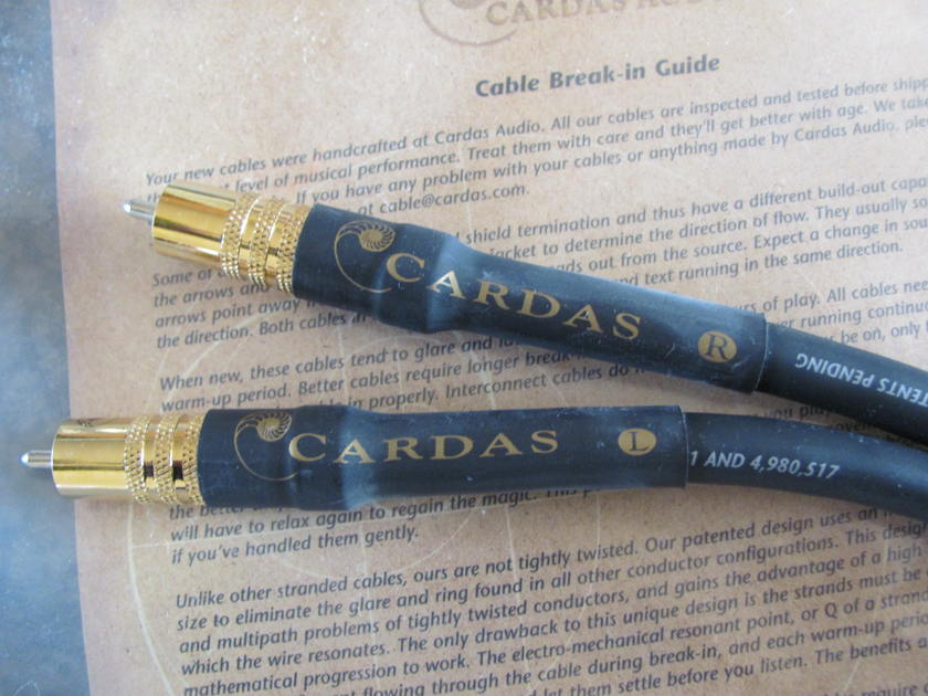 Cardas Audio Golden Reference RCA 1M interconnect *NEW*