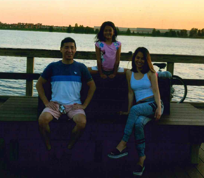 photo of the Dinh Family