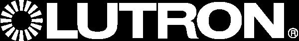 Lutron logo showing Faradite works with Lutron