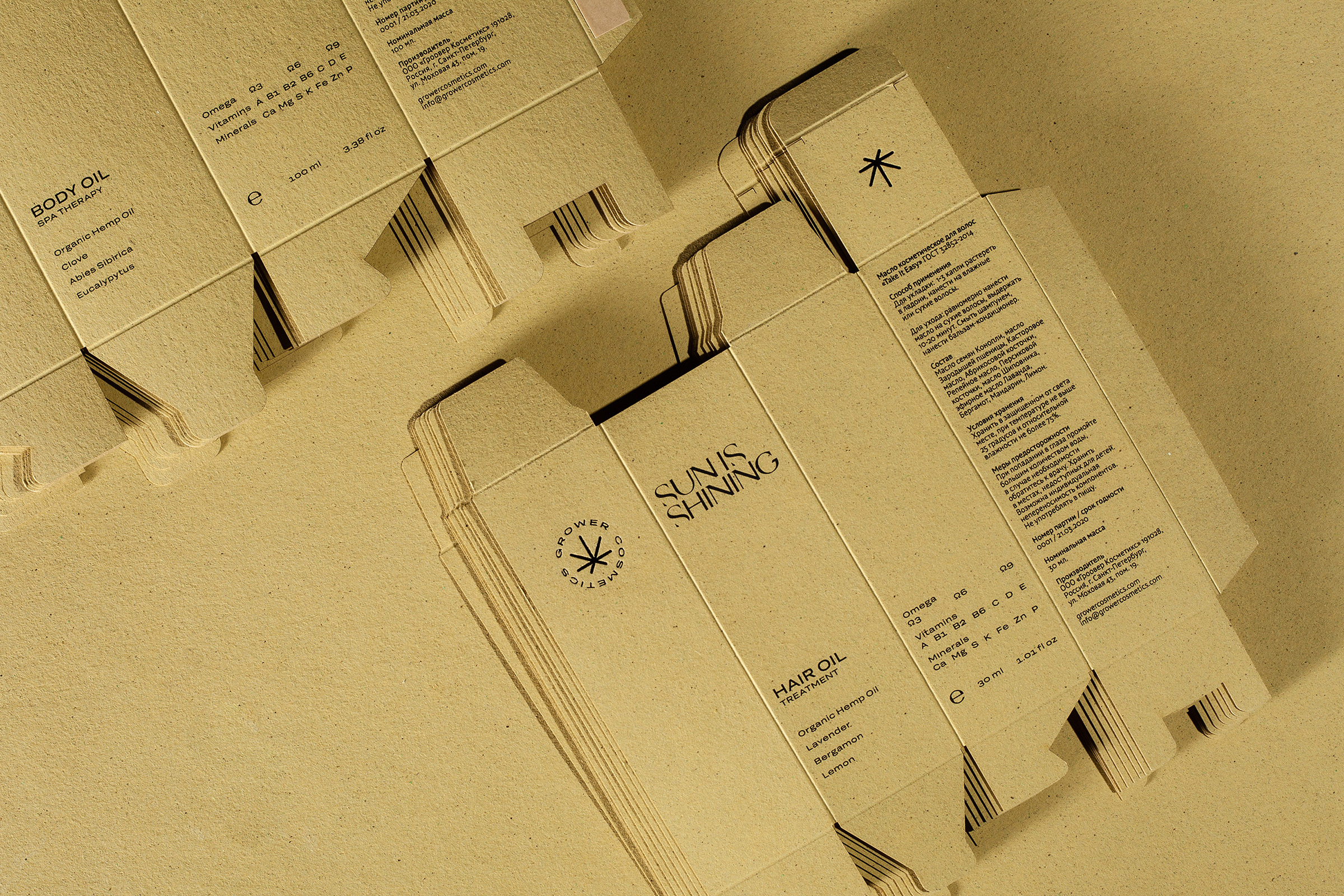 Example of carton packaging