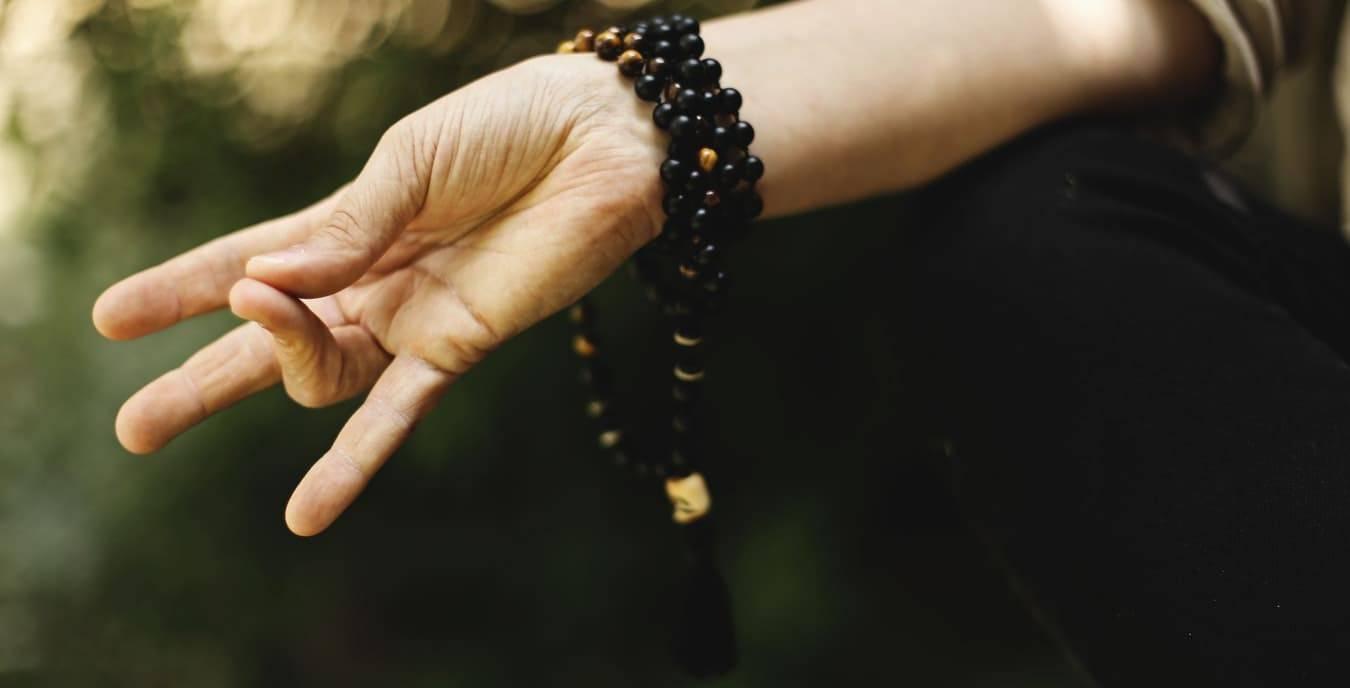 hand bracelet mala