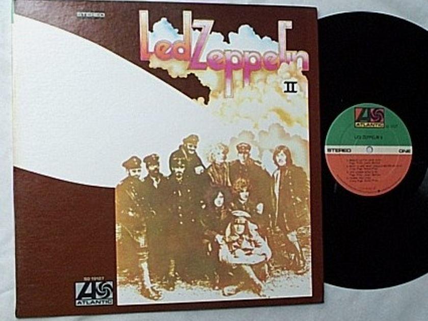 Led Zeppelin LP-II-Atlantic label  - SD 19127-gatefold cover-mint vinyl