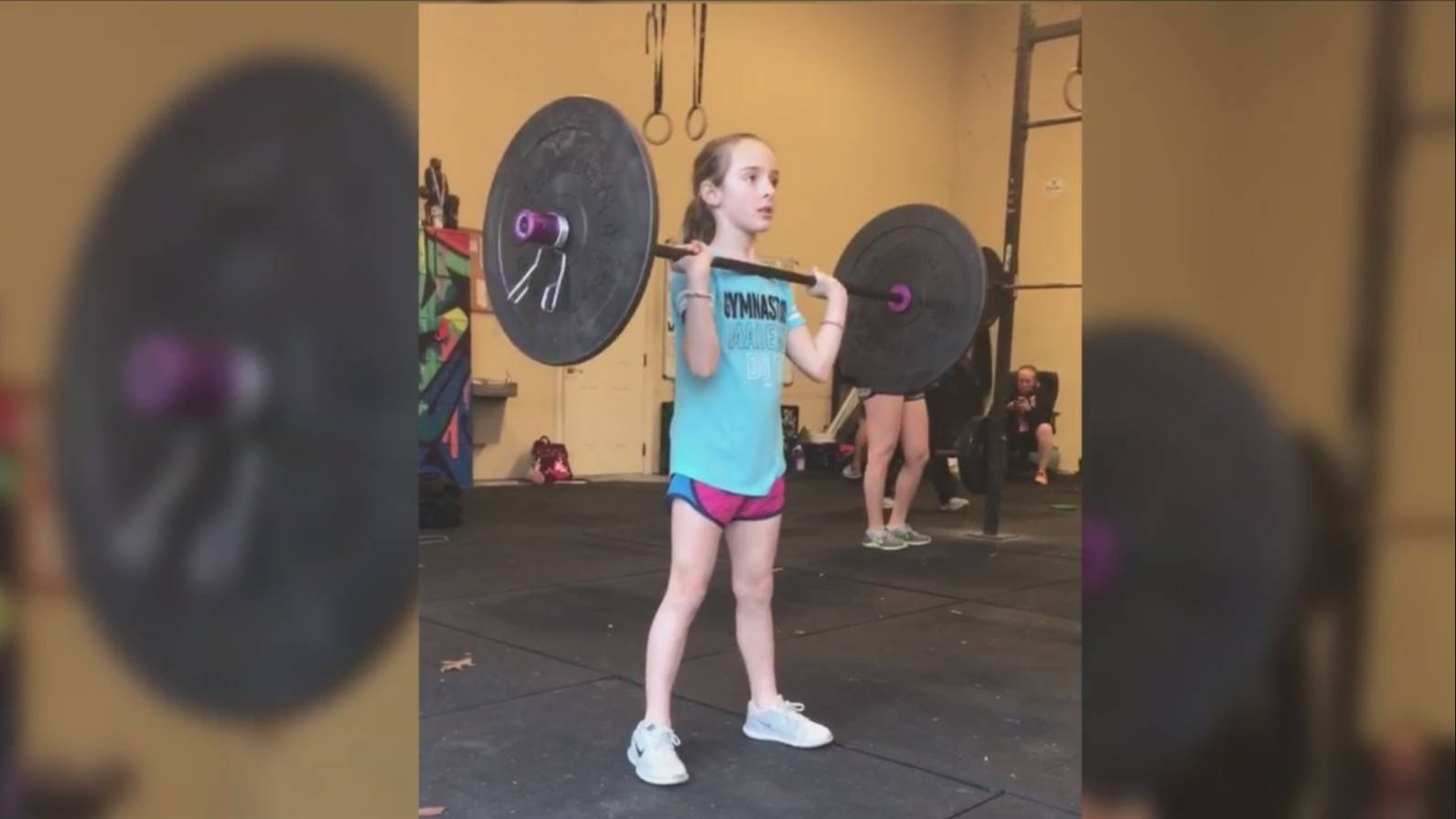 8 Year old competes in national crossfit competition