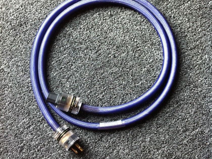 Revelation Audio Labs Precept II Ref cryo silver mains cord