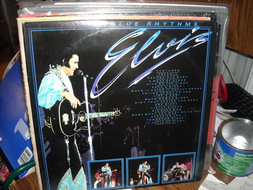 Elvis Presley - Blue Rhythms Everest Records 2 LP Set (c)