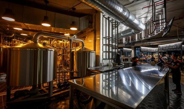 Атмосфера семейной пивоварни