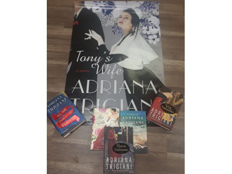 Adriana Trigiani Book/Poster Gift Set