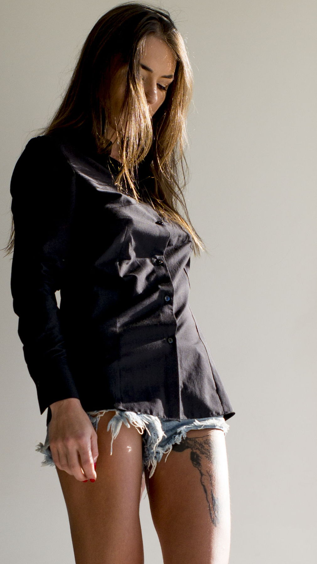 Simple black shirt
