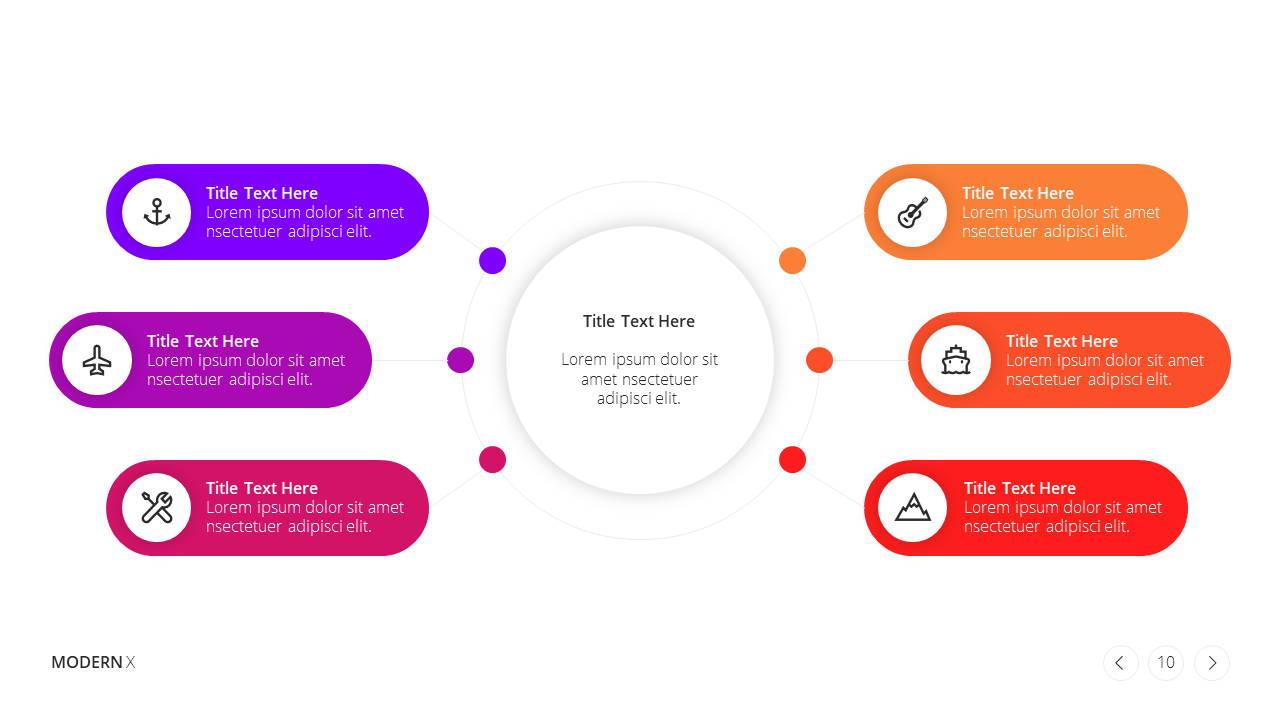 Modern X Social Media Report Presentation Template Monthly Strategies