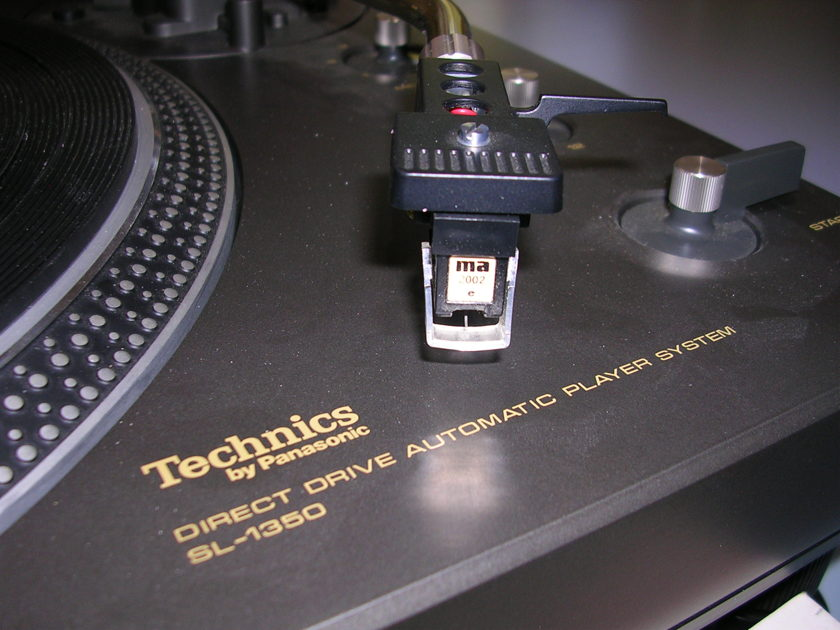 TECHNICS SL 1350 AUTOMATIC DIRECT DRIVE TURNTABLE NOS or DEMO