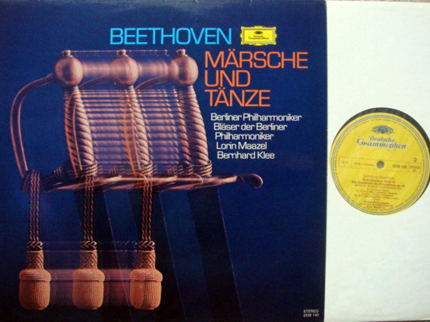 DG / MAAZEL-KLEE, - Beethoven Marches & Dances, NM!