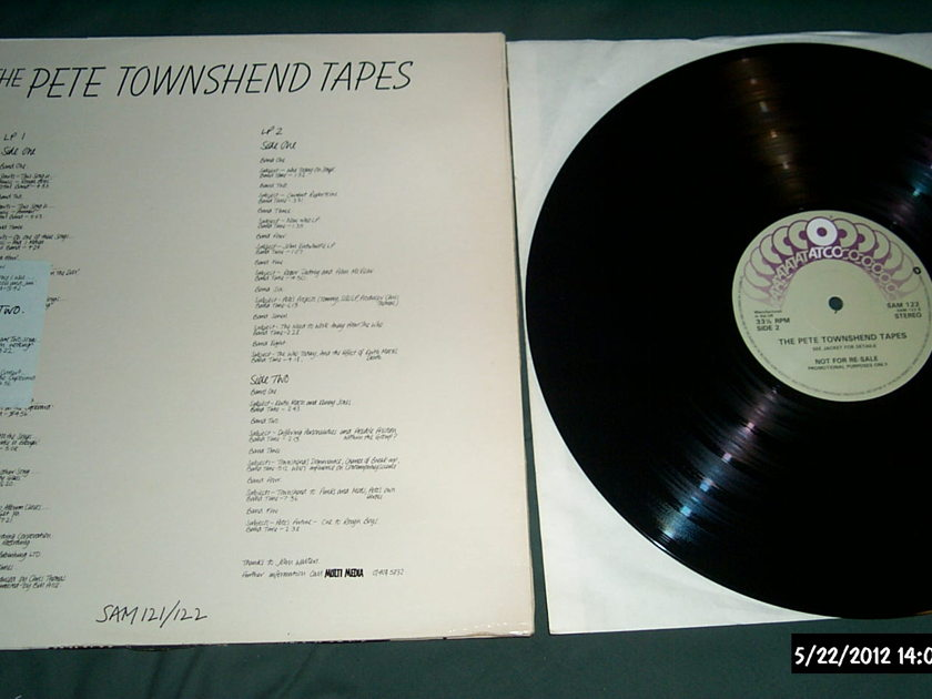 Pete Townshend - Pete Townshend Tapes 2 lp nm