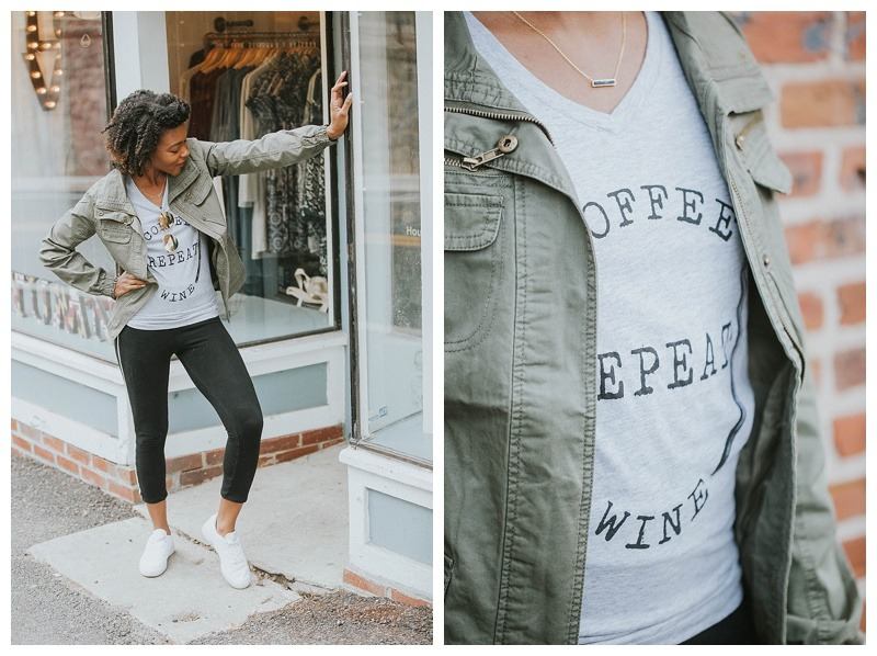 coffee lover-coffee apparel-fall fashion-everyday fashion-boss lady fashion-workout fashion-fall
