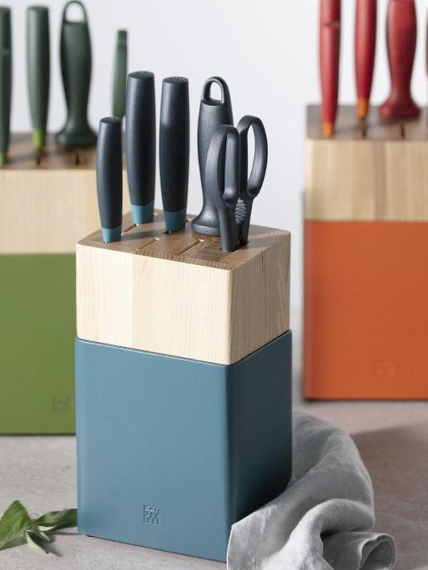 Knife Block Set, 6 pcs.