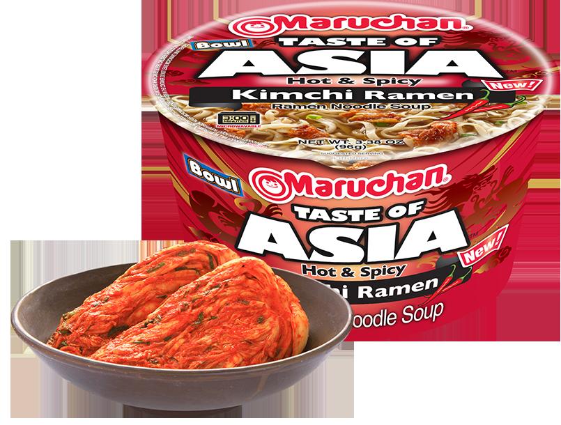 Taste of Asia Hot & Spicy Kimchi Ramen