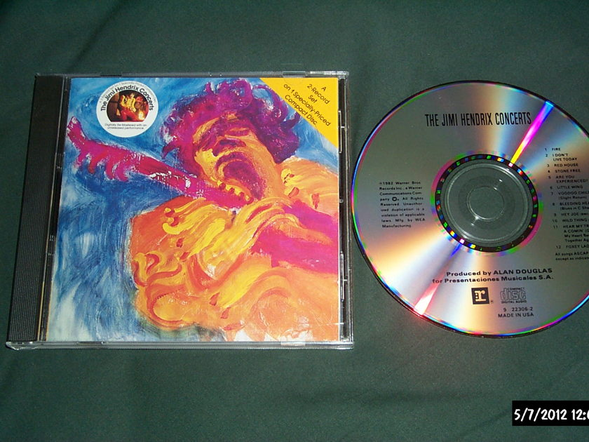 Jimi Hendrix - The Jimi Hendrix concerts rare cd nm