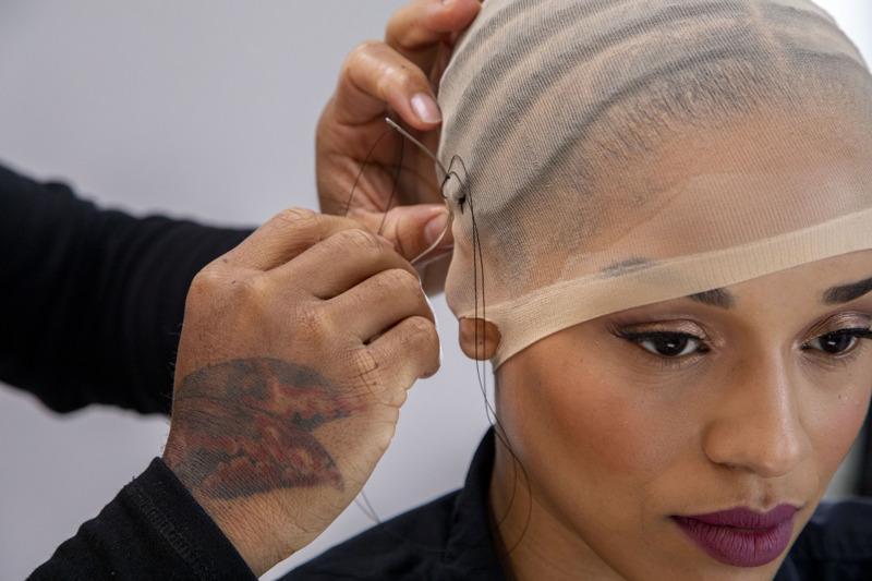 360 frontal wig cap