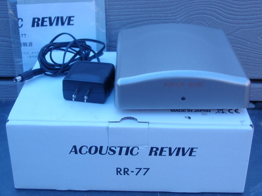 Acoustic Revive  RR-77 Ultra Low-Frequency Generator