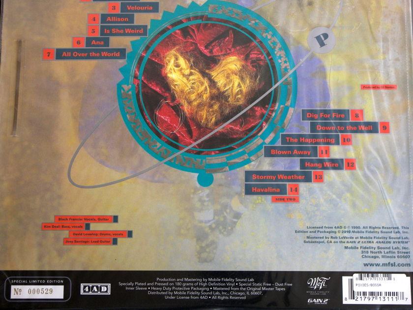 MFSL Pixies - Bossa Nova  GAIN-2 Ultra Analog Recording Lmtd. Edition Serial No.000529 Mint [Sealed]