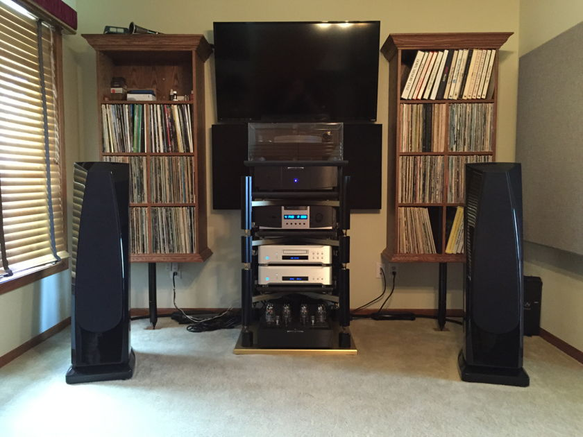 BAT Balanced Audio Technology REX Amplifier Wonderful Sound !