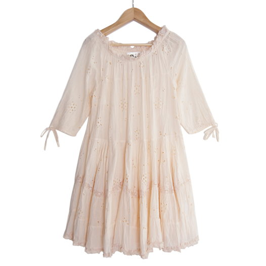 Платье-бохо из 100% хлопка